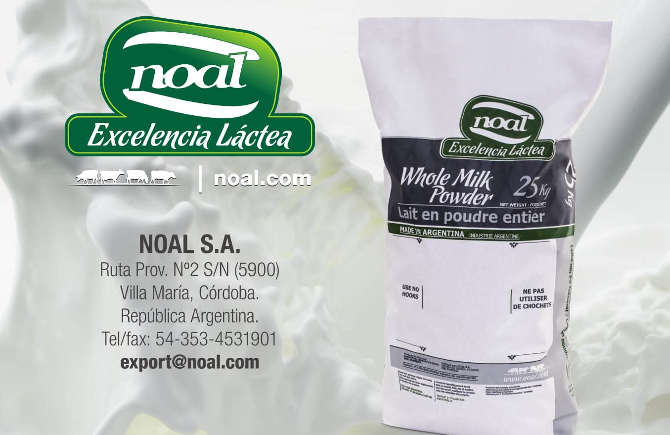 NOAL S.A - A dairy company based in Villa María, province of Córdoba, the main Argentina´s milkshed