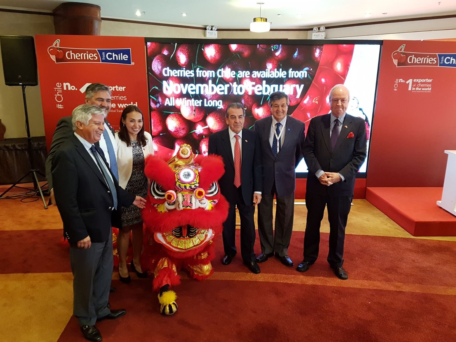 Chile's cherry exporters invite Chinese consumers to 'enjoy a red moment'
