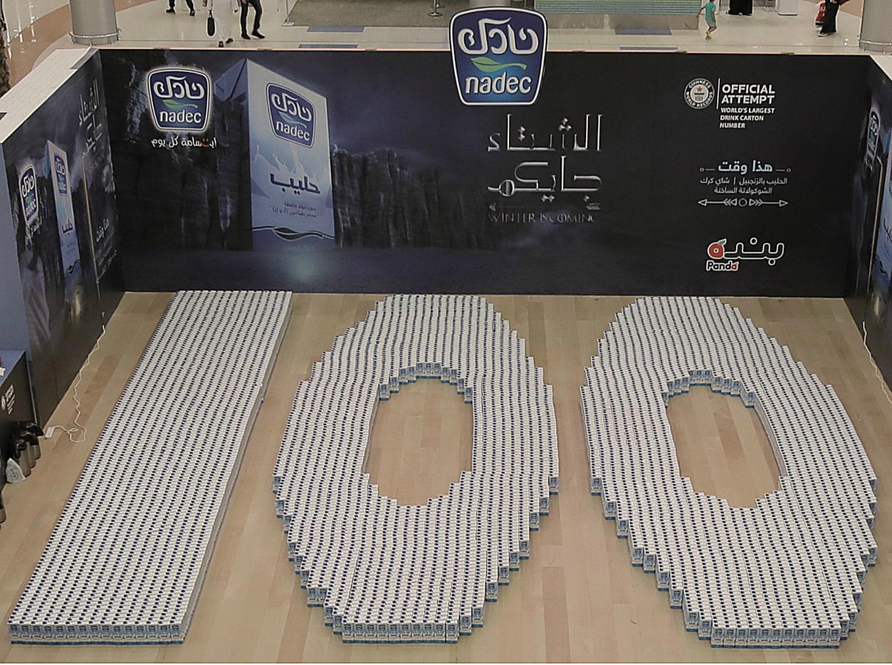 NADEC sets new Guinness World Record in KSA