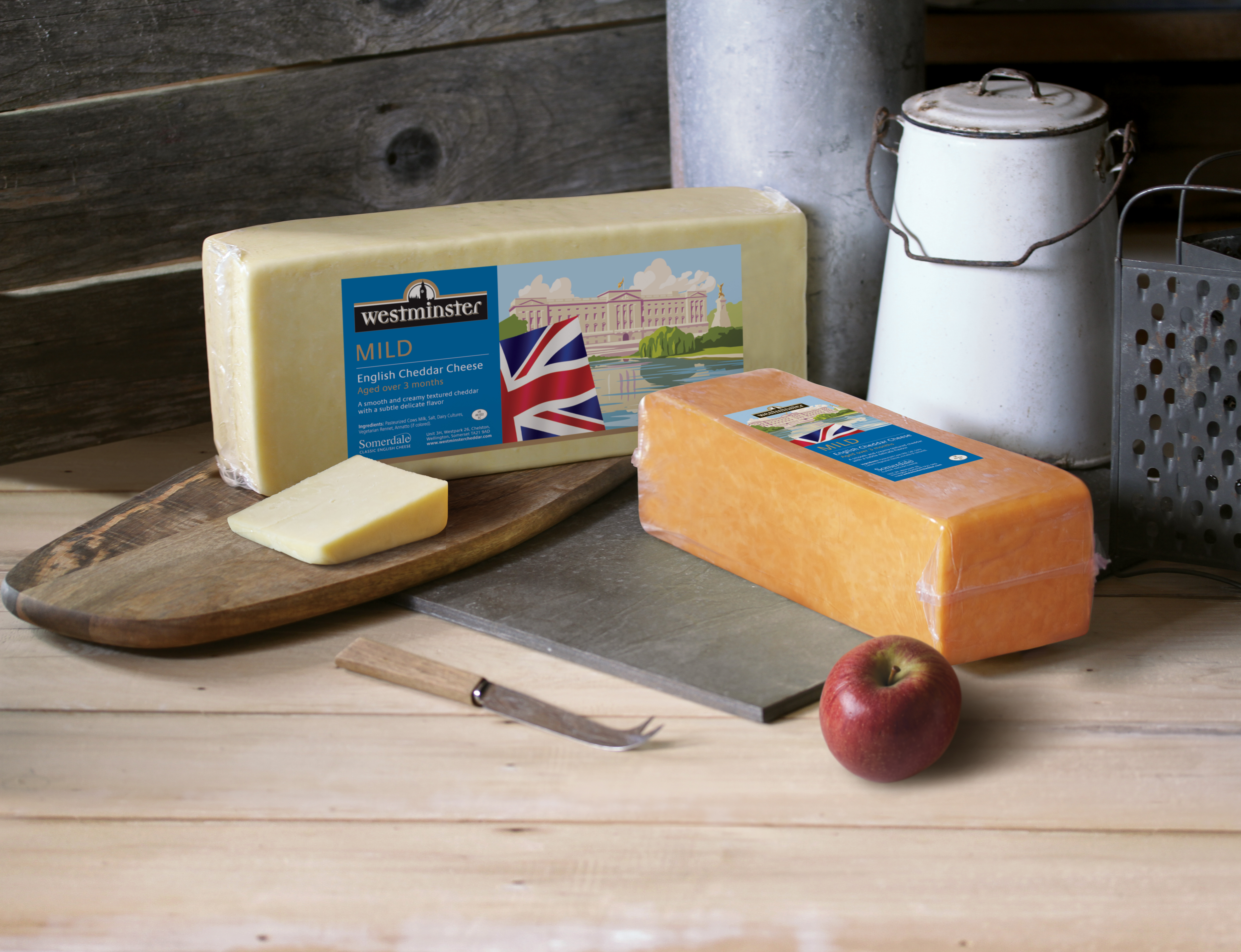 Somerdale flies the flag for British cheese in the Middle East