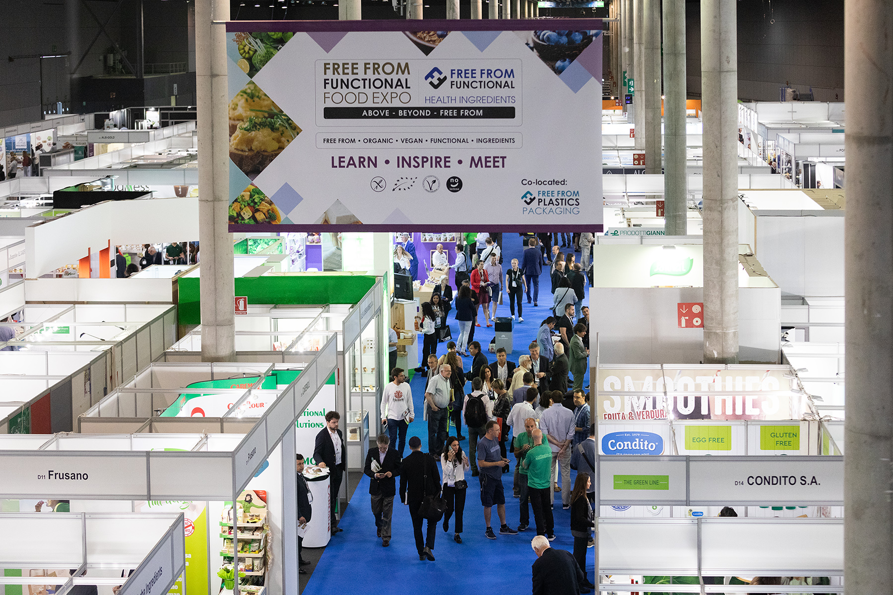 Free From Functional & Health Ingredients celebrates a triumphant return to Barcelona