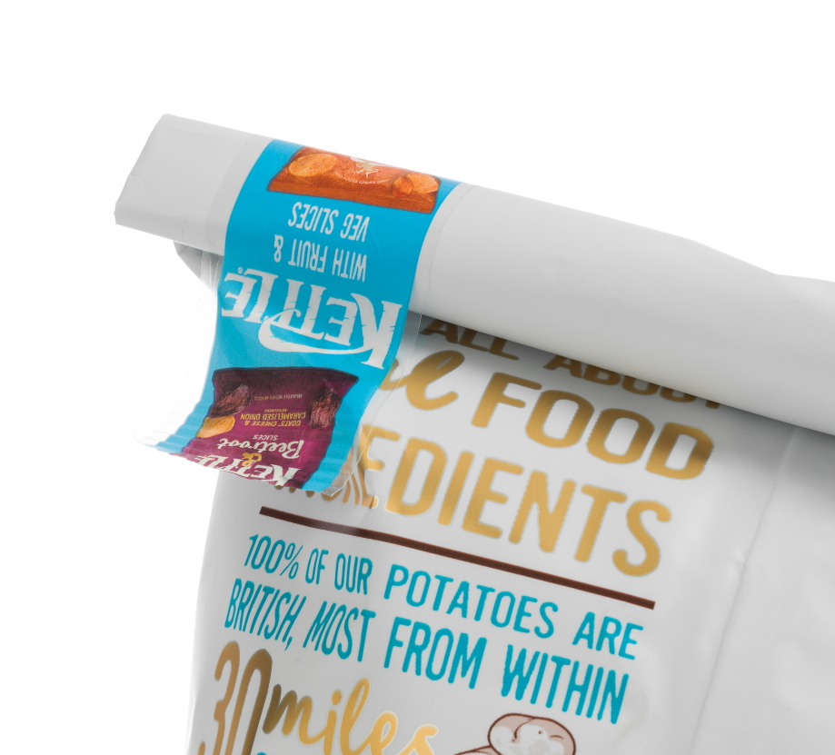 ESSENTRA'S RE:CLOSE™ TAPE DELIVERS PROMOTIONAL IMPACT FOR KETTLE FOODS
