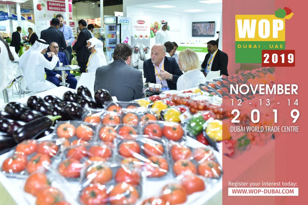 IPM DUBAI and WOP DUBAI from November 12 to 14, 2019
