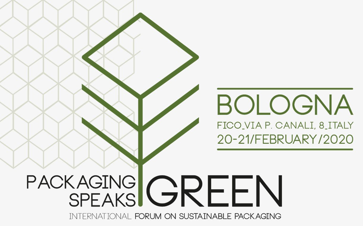 Packaging Speaks Green: sustainability and manufacturing a key topic at Bologna's international forum on 20 and 21 February