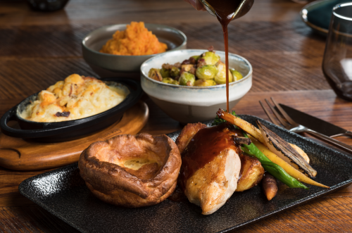 The London Project Serves Up Saturday Roast Fit for a  King and Queen
