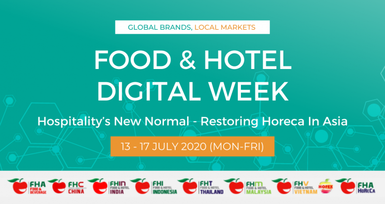 [Invitation] Register for Food & Hotel Digital Week July