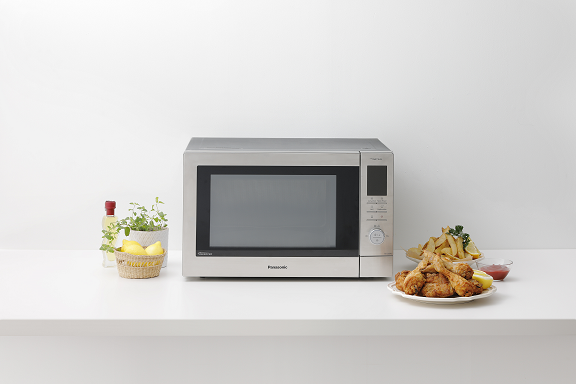 Make convenient cooking healthier and tastier for your kids with Panasonic NN-CD87 Convection Microwave Oven
